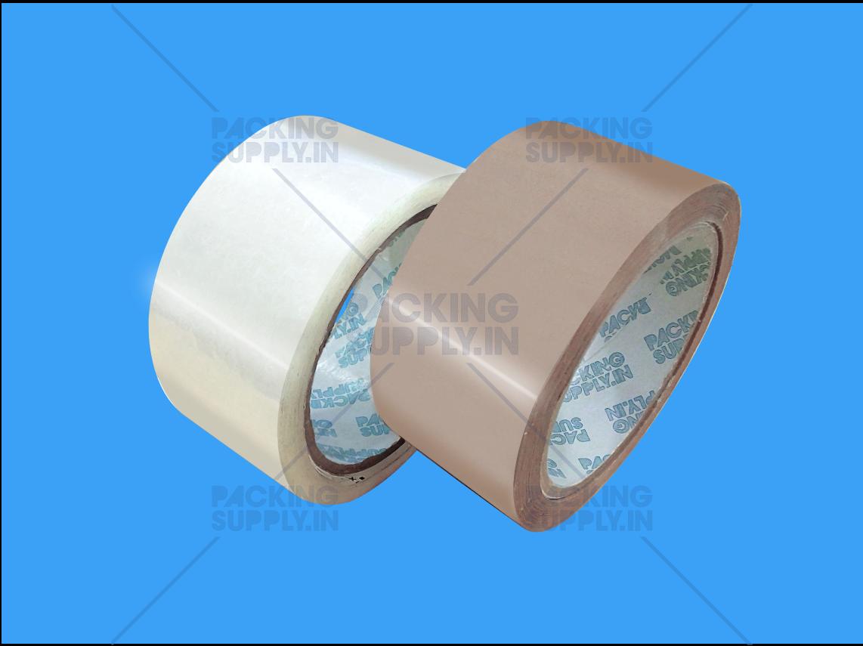Transparent & Brown Adhesive BOPP Tapes