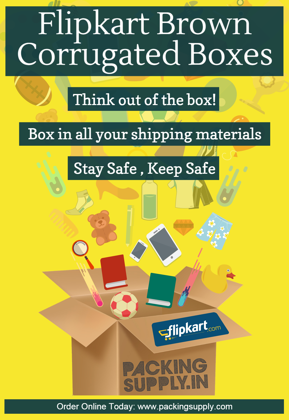 Flipkart Corrugated Box shop online