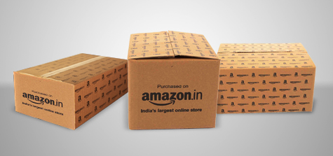 Amazon Branded Corrugated Boxes