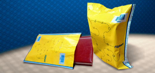 Flipkart Yellow Security Shipping Bags