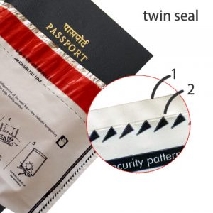 twin side seal envelopes