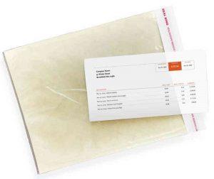 Side Loading Packing List Envelopes