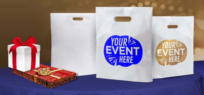 Custom Promotional Exhibition D-cut Carry Bags Online