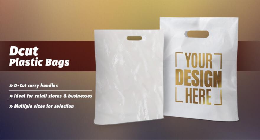 7bc2f0b7fab Plastic D Cut Retail Carry Bags & Shopping Bags Summary