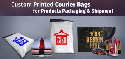 Custom Screen Printed Courier Bags