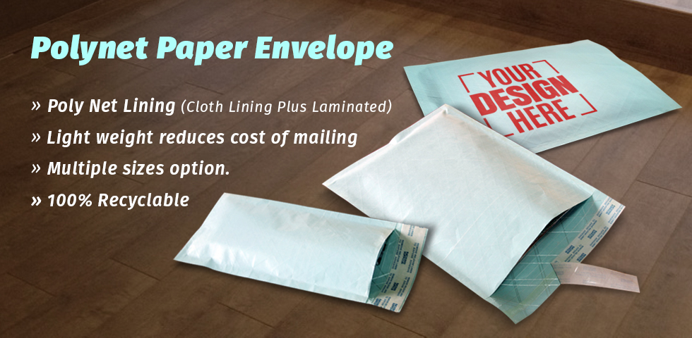 Polynet Paper Envelopes and Pouches Online