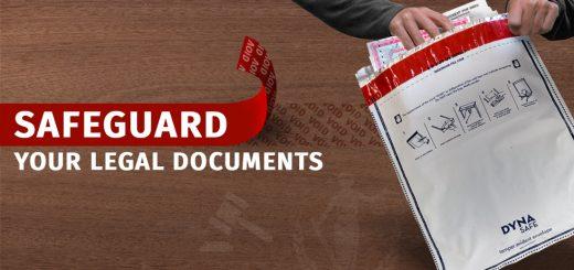 Tamper Evident Security Envelopes For Safeguarding Your Legal Documents & Deeds