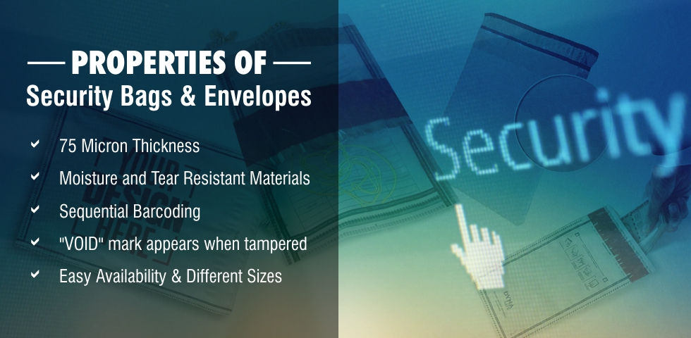 Features of Security Bags and Envelopes