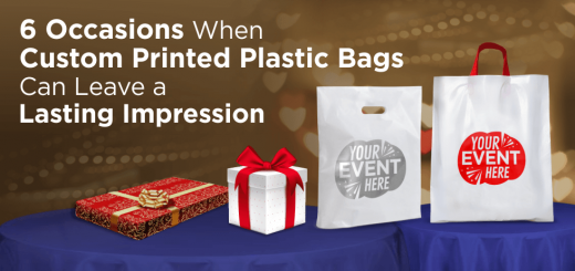 6 Occasions When Custom Printed Plastic Bags