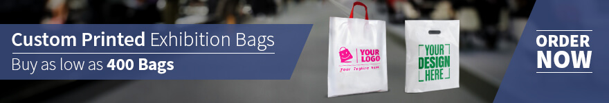 custom printed promotional exhibition bags
