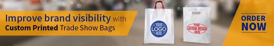 Custom Printed Trade Show & Fair Bags