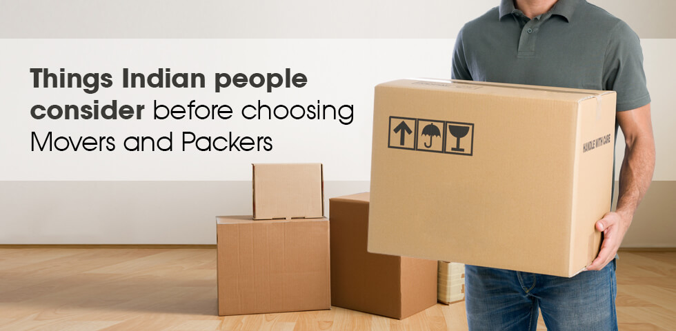 Things to consider before choose packers & movers