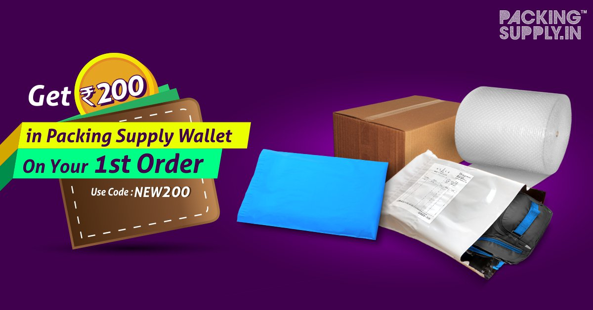 Packing Supply Wallet Offer Coupon Code New 200 Wallet