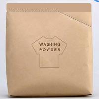 Washing powder packaging