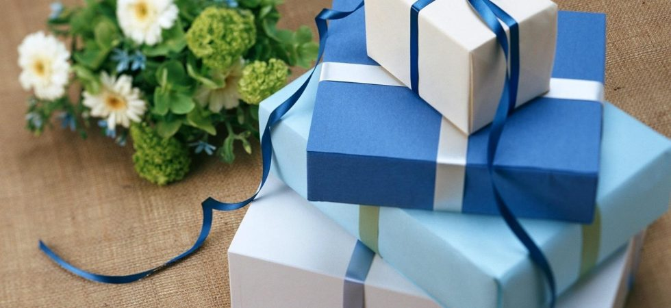 wedding gift wrap ideas