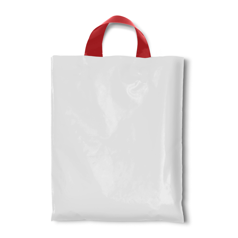 9bff5f5d7ef White Colour Retail Bags, 14 x 16