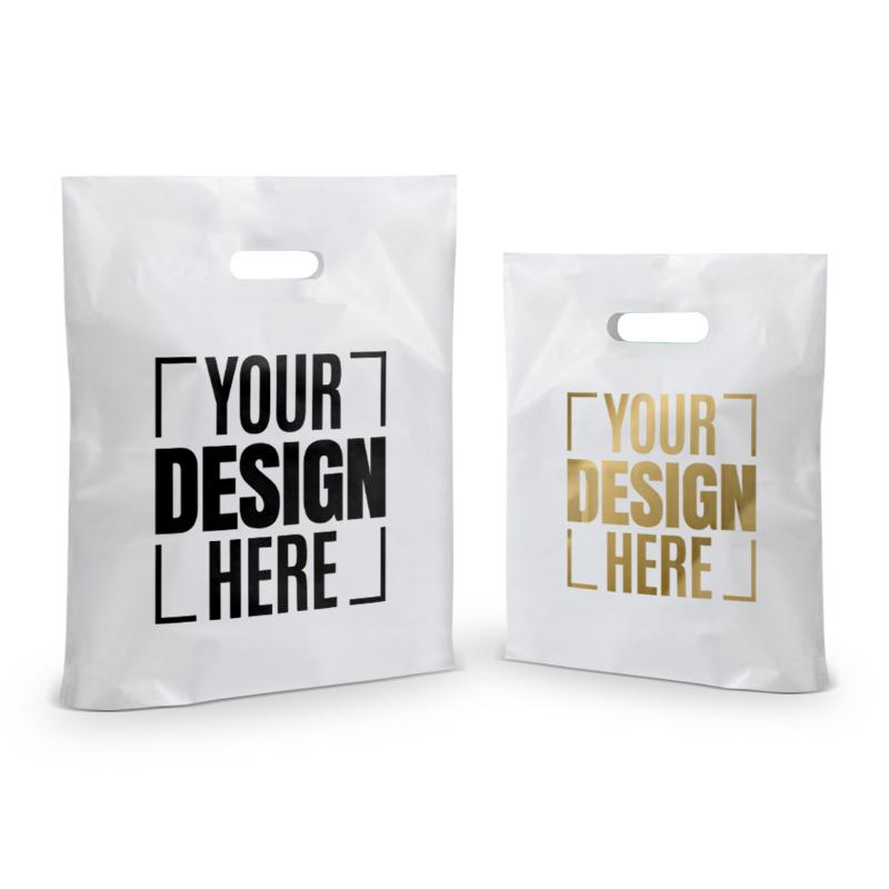 c9f0a59d182d Personalized Screen Printed D Cut Carry Bags   Reusable Shopping ...