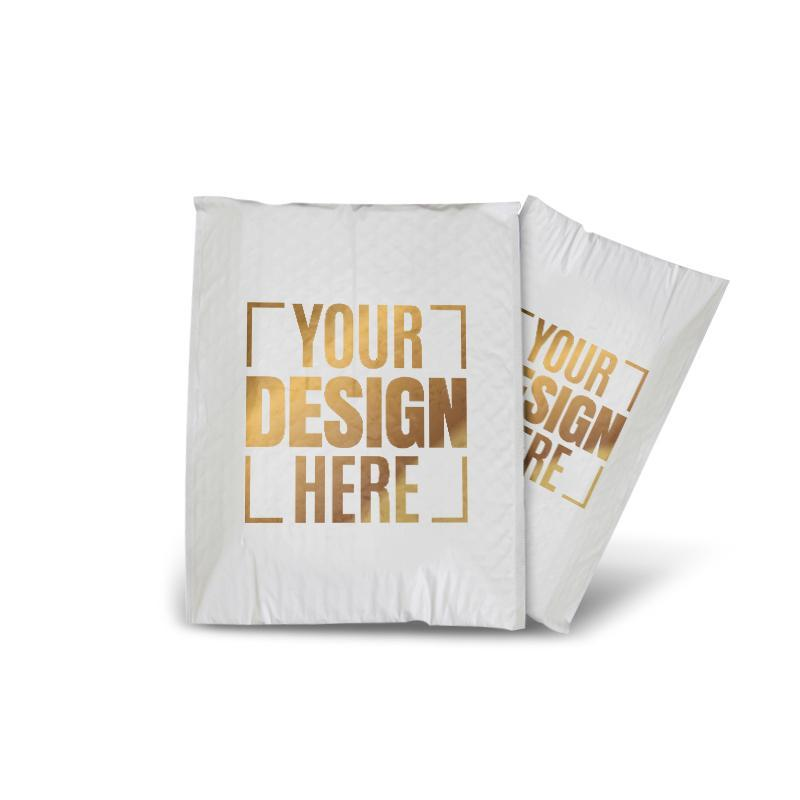 271da9928f12 Custom Screen Printed Bubble Courier Bags and Padded Envelopes with ...